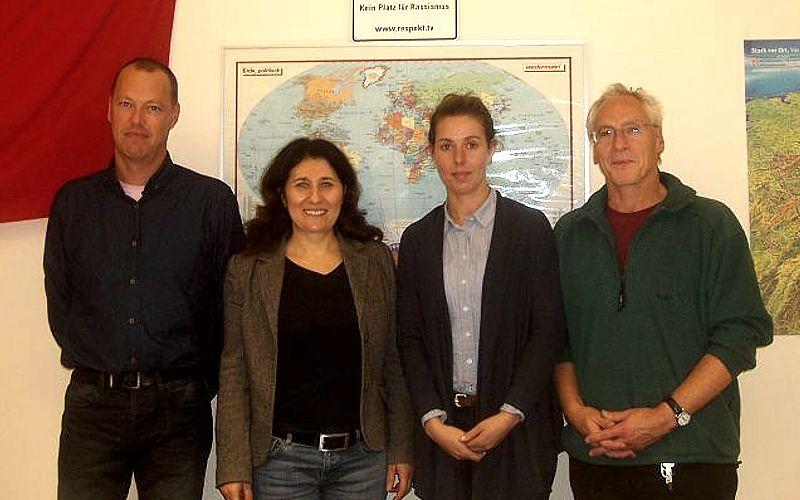 Das neue Team der Beratungsstelle Lüneburg für mobile Beschäftigte stellte sich vor