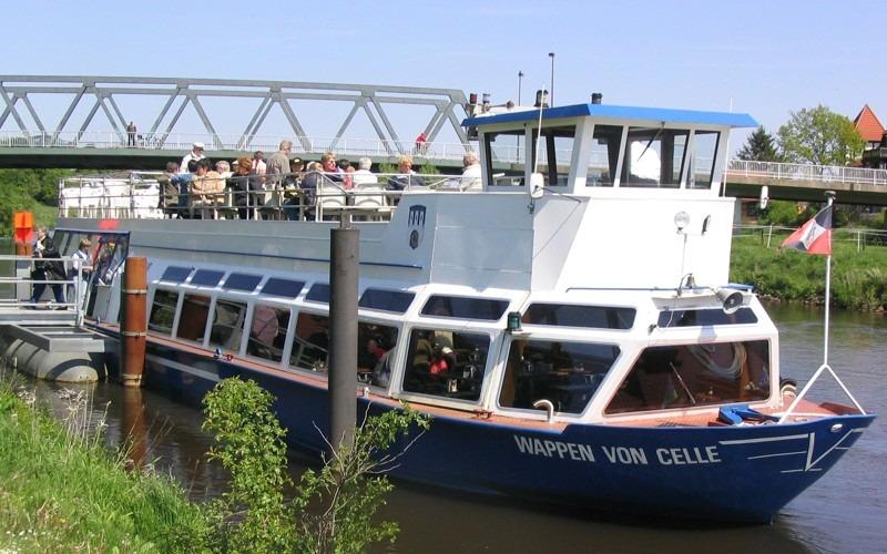 M.S. Wappen von Celle – Traumschiff-Reisen auf der Aller