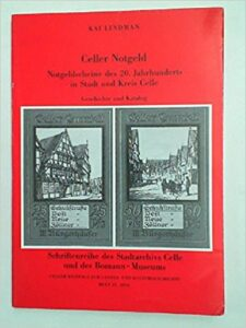 Book Cover: Celler Notgeld
