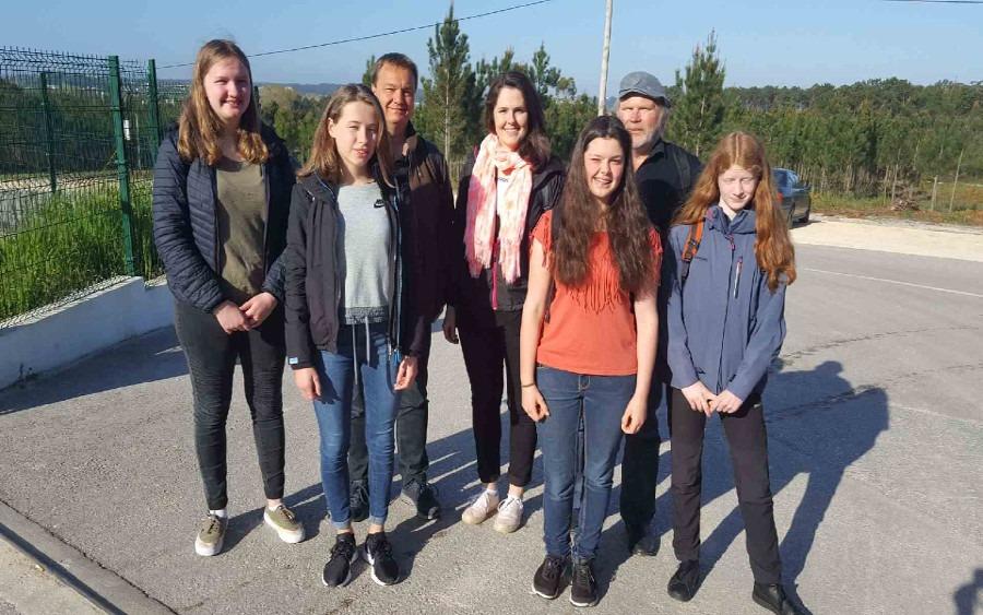 Christian–Gymnasium trifft Erasmus-Partnerschulen in Leiria/Portugal