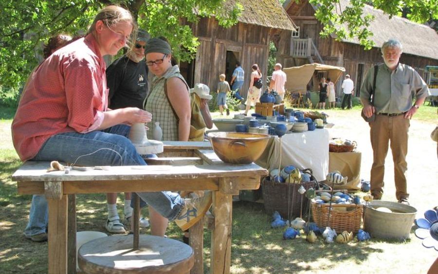 Markttag im Museumsdorf Hösseringen