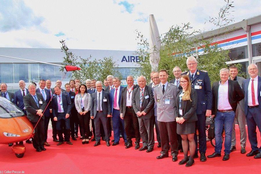 Mikrogravitationsforschung in Faßberg-Trauen? – FASSBERG mit AIRBUS auf der ILA 2018 in Berlin