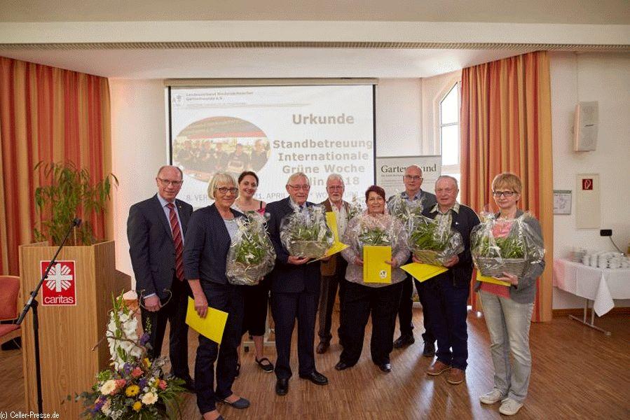 Niedersachsens Gartenfreunde tagten in Wolfsburg – Burkhard Balkenhol (stellvertr. Vorsitzender BV Celle) erneut zum Schriftführer gewählt