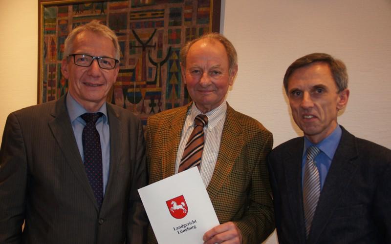 10 Jahre Schiedsmann – Ehrung für Hans-Wolfgang Saager