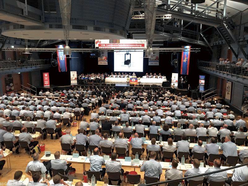 150 Jahre Landesfeuerwehrverband Niedersachsen 106. Landesverbandsversammlung des Landesfeuerwehrverband Niedersachsen in Celle
