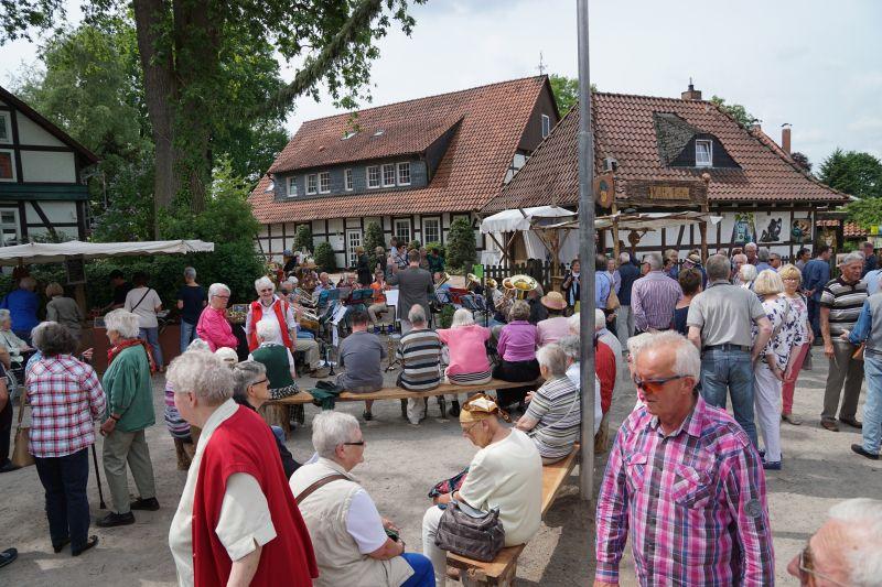 Historischer Dorfmarkt 2019 in Altencelle