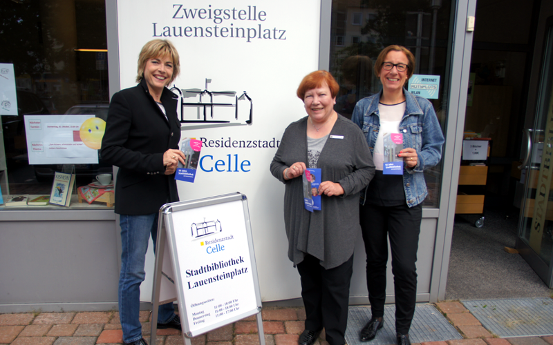 50 Jahre Stadtbibliothek am Lauensteinplatz am 9. Oktober