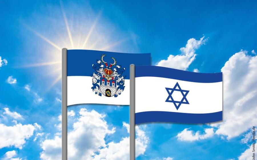 70 Jahre Israel: Celle zeigt Flagge gegen Antisemitismus