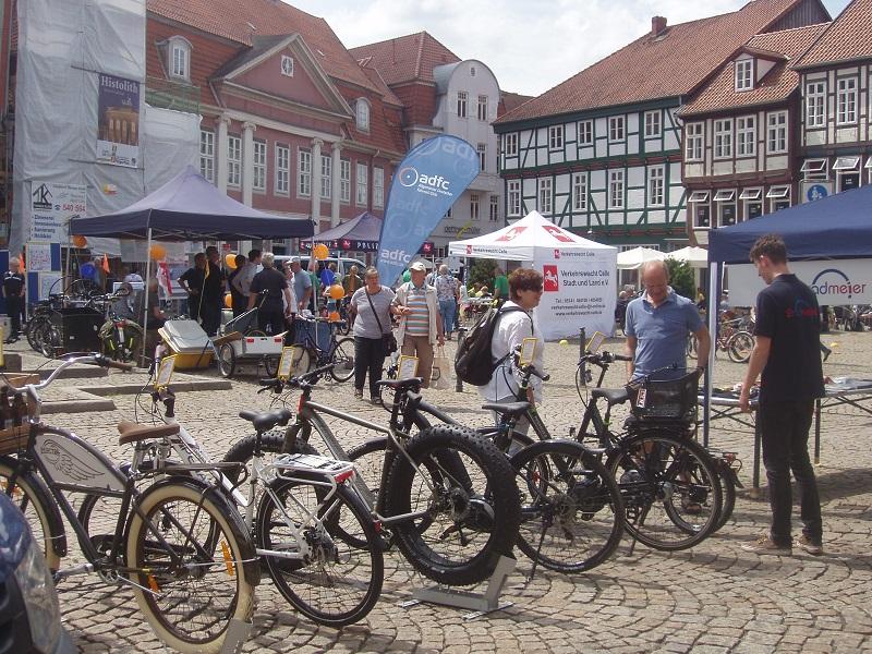 AG Fahr Rad führte Fahrradaktionstag in der Celler Innenstadt durch