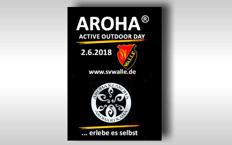 1. AROHA Active Outdoor Day beim Sportverein Walle