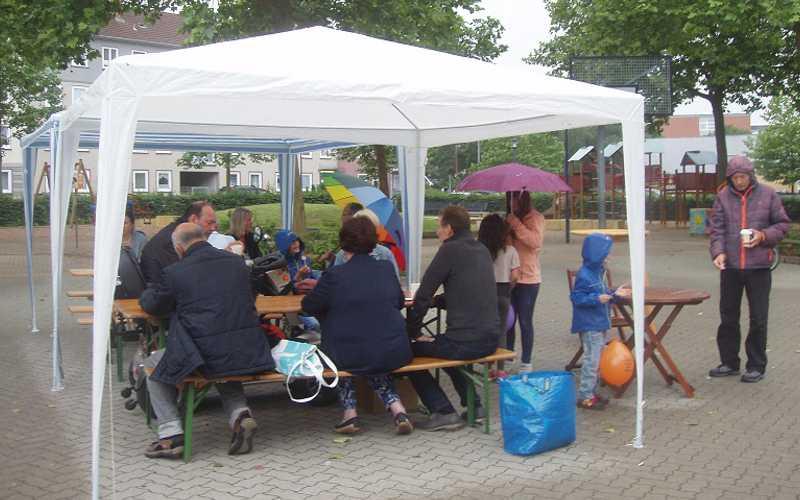 AWO lud zum Sommerfest auf dem Heeseplatz ein