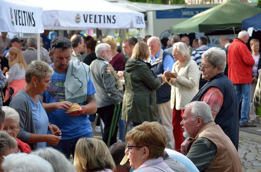 Anreiten zum Celler Schützen- und Volksfest 2017