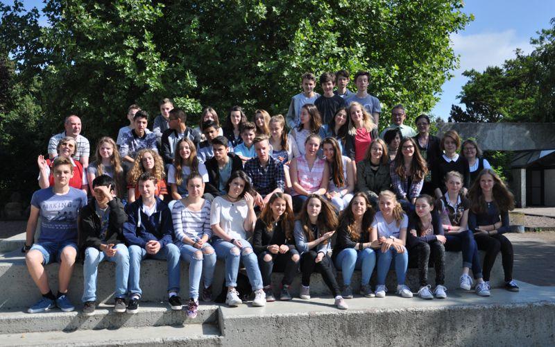 """Austauschgruppe aus Celles Partnerstadt Meudon zu Gast am Ernestinum – deutsch-französisches Schülerprojekt """"100 Jahre nach Verdun"""""""