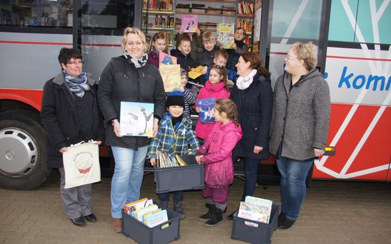 """""""Bücher für zu Hause"""": Weiterer Kindergarten im Projekt"""