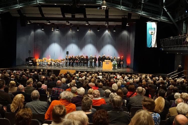 Oberbürgermeister Dirk-Ulrich Mende lud zum Bürgerempfang