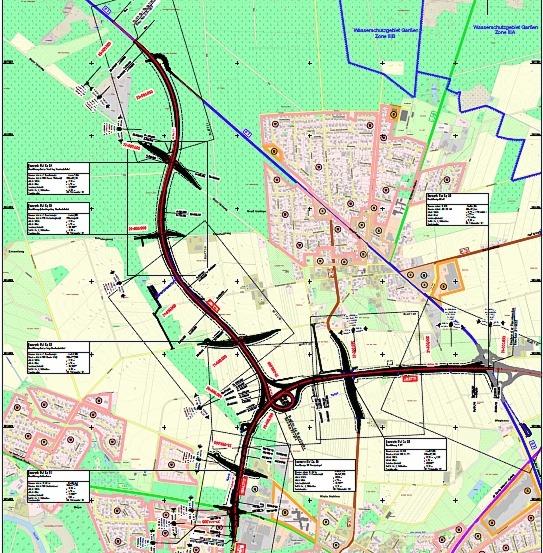Ortsumgehung B 3: 5. Bauabschnitt Umgehung Groß Hehlen in Planung
