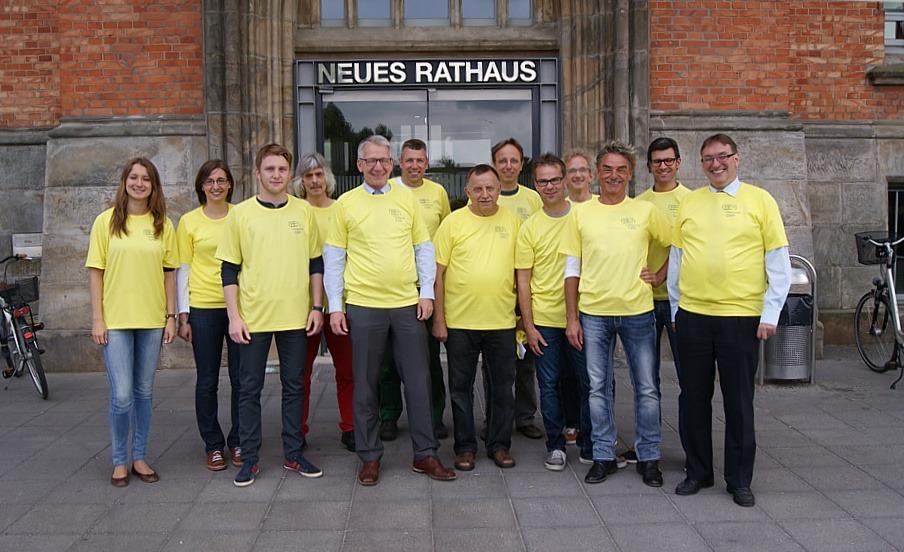 15. Behördenmarathon in Hannover – Mannschaften der Stadt Celle