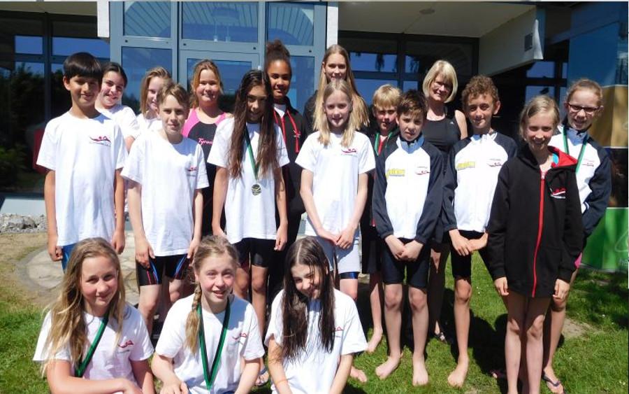CSC-Schwimmer beim Einladungsschwimmfest der WSG Wunstorf erfolgreich