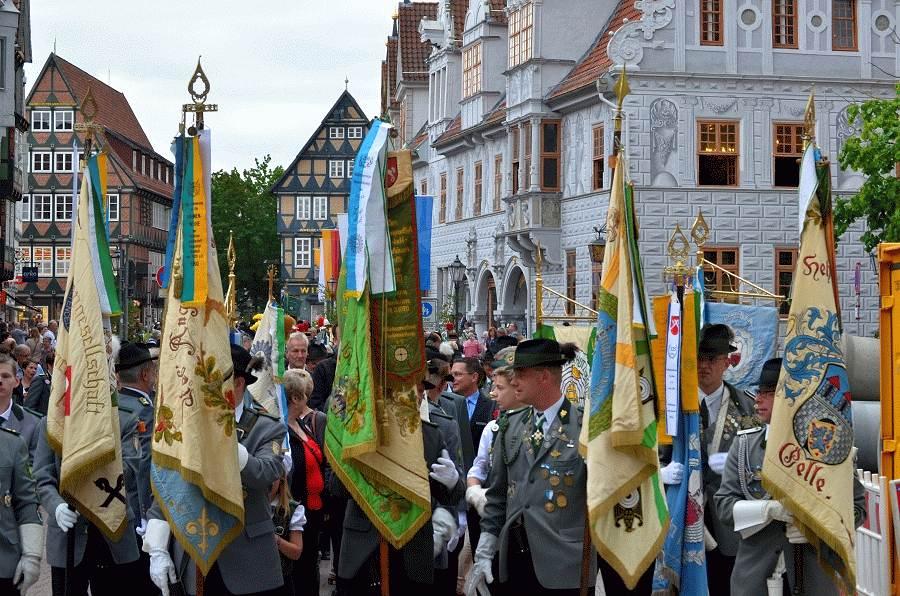 Celler Schützen- und Volksfest 2017 offiziell eröffnet