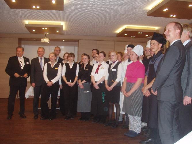 Das perfekte Dinner in Celle – Die gastronomischen Nachwuchsmeister wurden vom DEHOGA Kreisverband gekürt