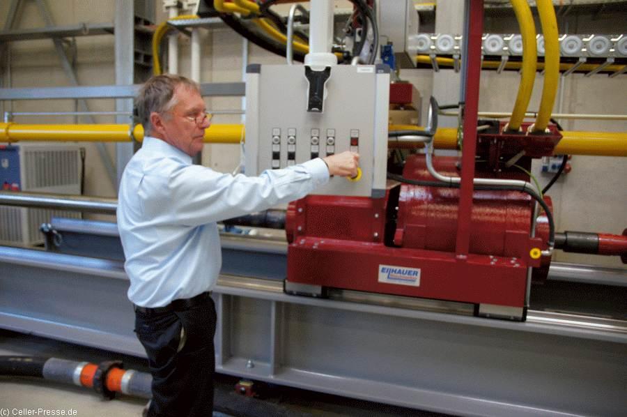 Dank Drilling Simulator: Deutsches Zentrum für Hochleistungsbohrtechnik und Automatisierung in Celle