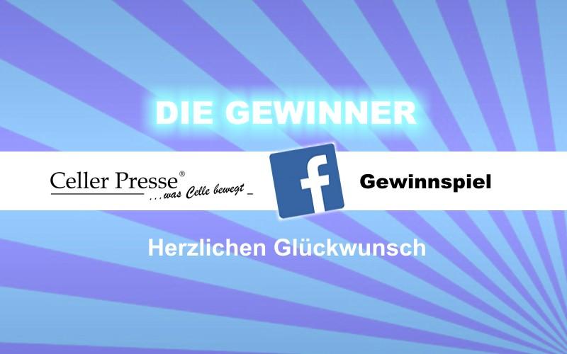 Die Sieger unseres Facebook-Gewinnspiels stehen fest!