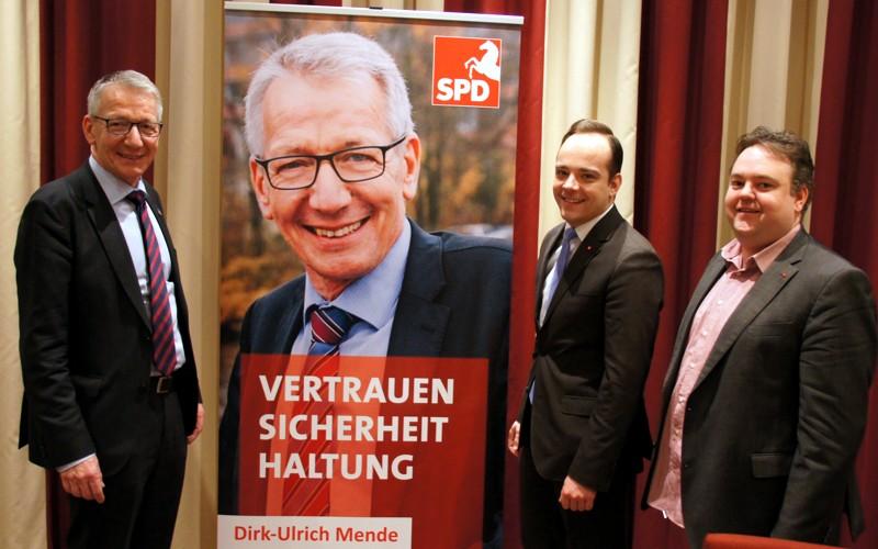 """Dirk-Ulrich Mende: """"Ja, ich trete wieder an, ich werde erneut um das Amt des Oberbürgermeisters von Celle kandidieren"""""""