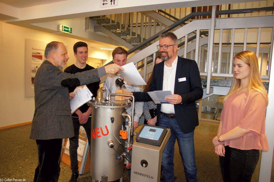 Ehrung durch die BGHM: Veolia Water Technologies für das Engagement beim Arbeitsschutz ausgezeichnet