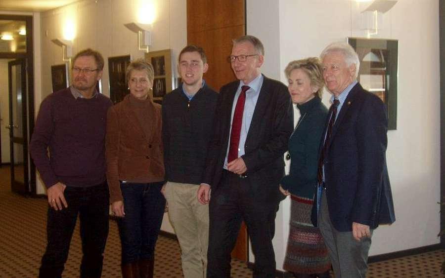 Ein Amerikaner in Celle – Austauschstudent zu Gast bei Oberbürgermeister Dirk-Ulrich Mende