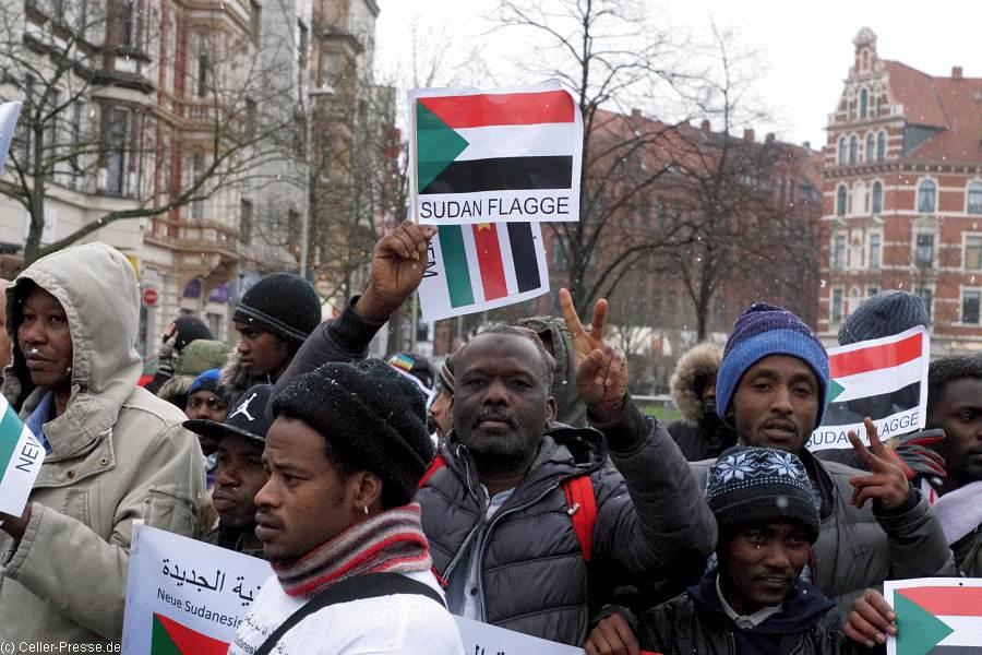 Für Freiheit und Demokratie im Sudan