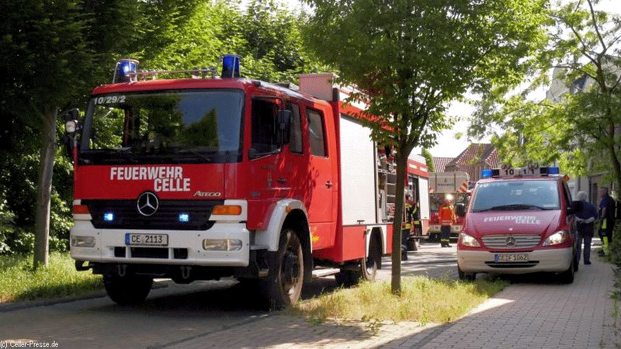 Feuer in einer Wohnung in der Kuckuckstraße
