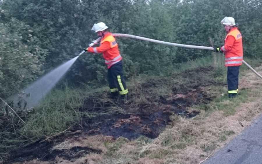 Flächenbrand in Wietzenbruch