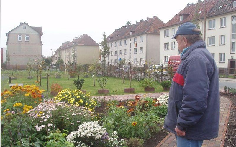 """Kürbissuppenparty im """"Garten der Begegnung"""""""