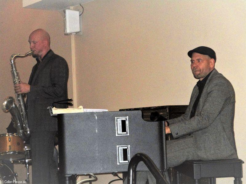 Großartige Jazzmusik mit dem Lutz Krajenski- Trio in der Heideblüte in Ovelgönne