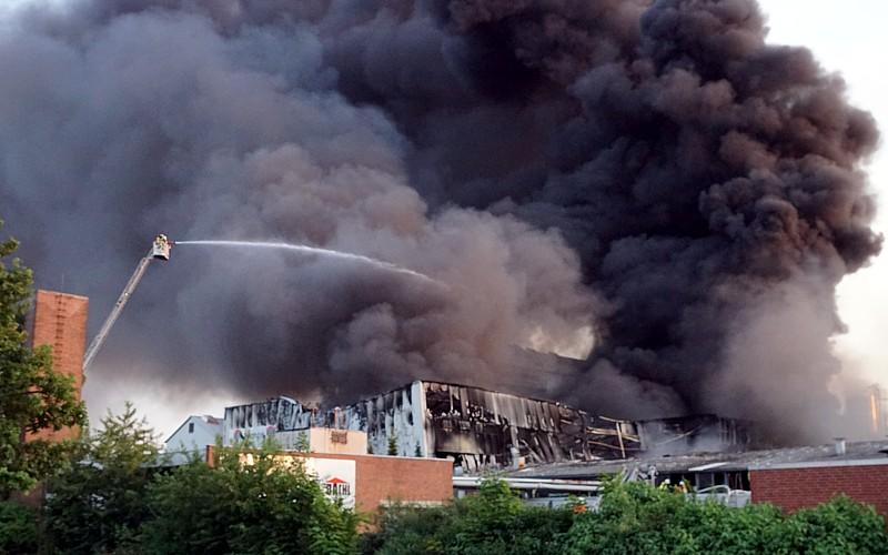 Großfeuer in Altencelle