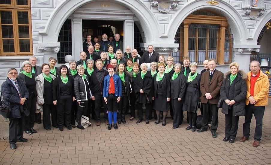 """""""In Celle unter Freunden"""" – Jóhans-Chor von den Färöer-Inseln besucht Celle"""