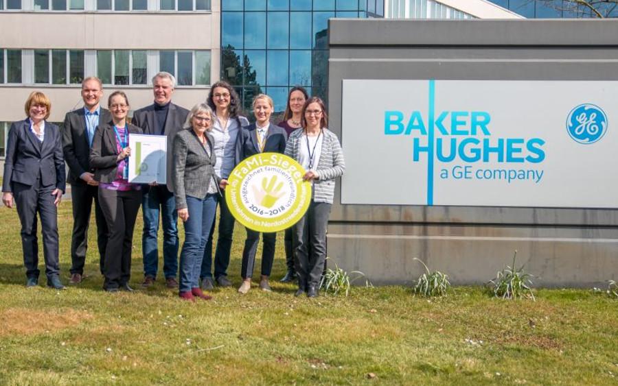International und familienfreundlich – BHGE erhält Familiensiegel