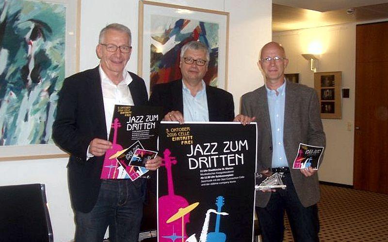 """""""Jazz zum Dritten"""" findet wieder am Tag der deutschen Einheit statt"""