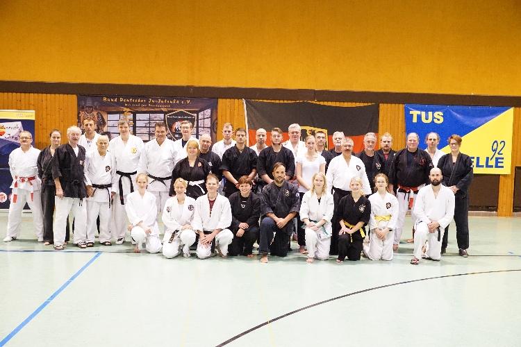 Ju-Jutsu-Kämpfer trafen sich zum zweiten Mal zum Bundeslehrgang in Celle
