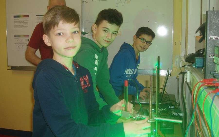Jugend forscht – Schüler experimentieren am Hölty 2017