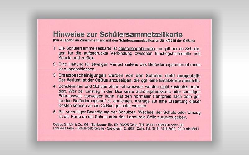 """CeBus: Kein """"Königsweg"""" für Schülerbeförderung ohne Fahrkarte"""