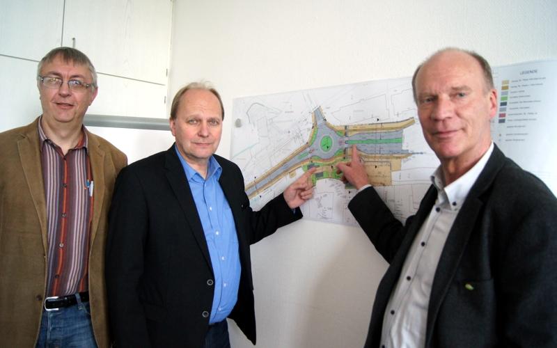 """Stadtbaurat: """"Es geht voran in Celle"""" – Kreisel auf dem Neumarkt kommt"""