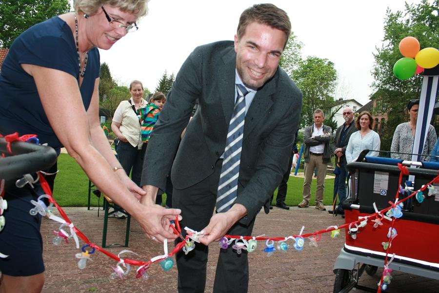 Krippenhaus Kita Schlösschen offiziell eingeweiht
