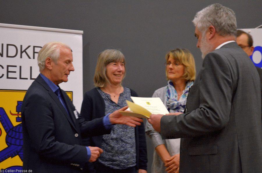 Landkreis Celle ehrt erfolgreiche Sportlerinnen und Sportler