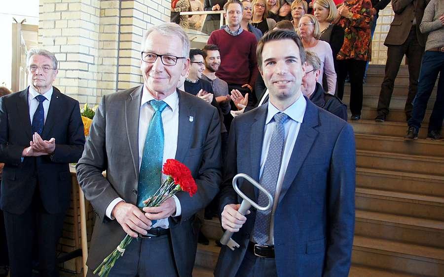Chefwechsel im Rathaus: Mende übergibt an Nigge