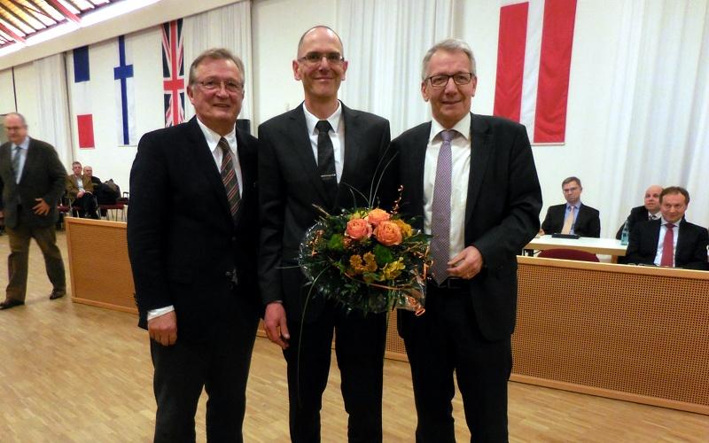 Thomas Bertram: Neuer Erster Stadtrat in Celle