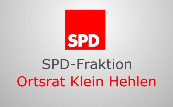 SPD-Fraktion im Ortsrat Klein Hehlen: Kein Verständnis für Entscheidung des Kreistages