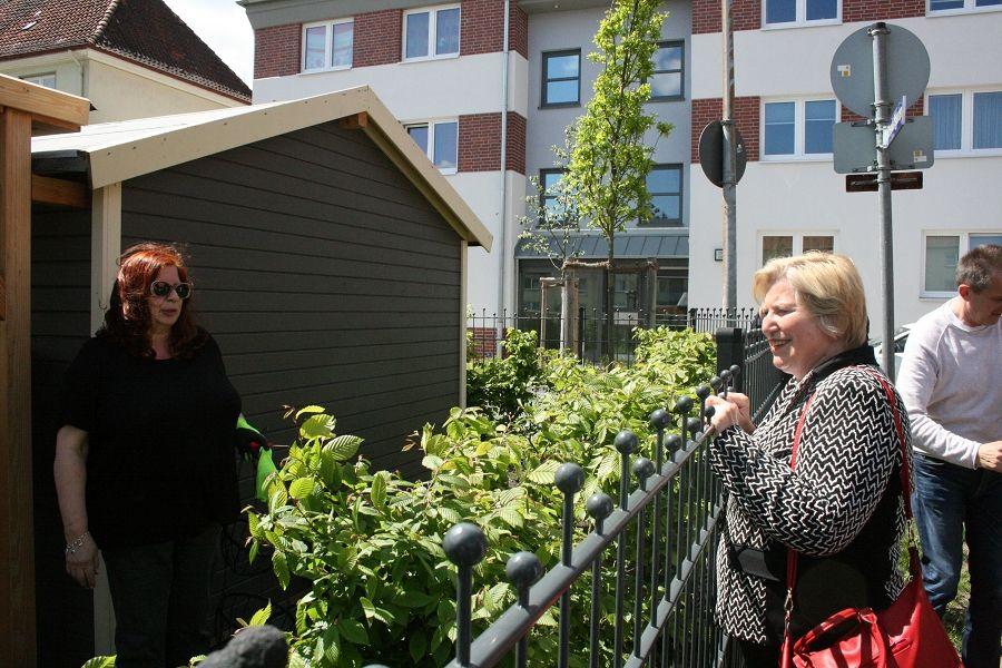 Sozial- und Gesundheitsministerin Cornelia Rundt besuchte Celler Hattendorffstraße