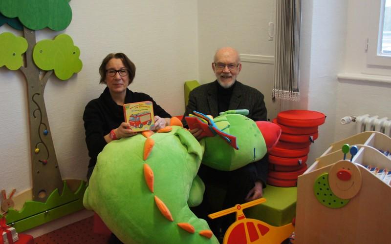 Spende für Kinder und Jugendliche in der Stadtbibliothek