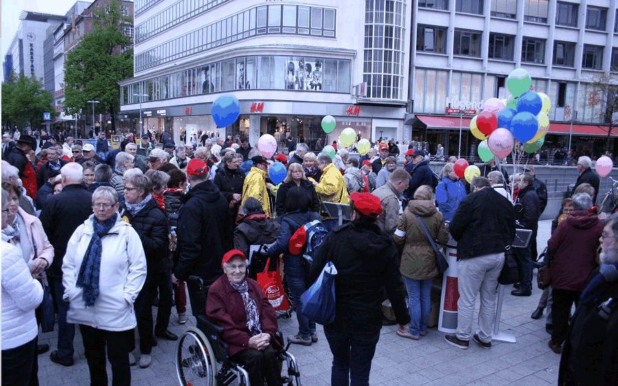Sternfahrt des SoVD Niedersachsen mit Celler Beteiligung
